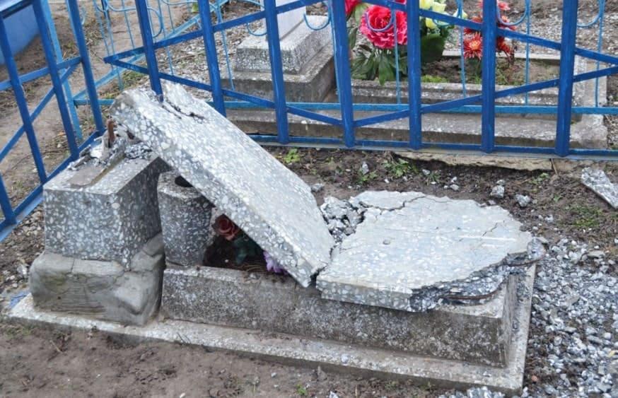 Реставрация надгробия своими руками
