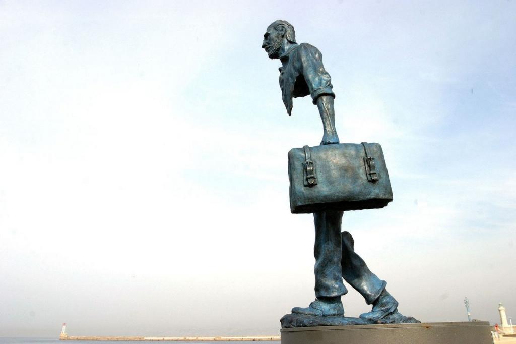 Скульптура Ван Гогу